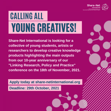 Call for Young Creatives for the LRPP Conference 2021!