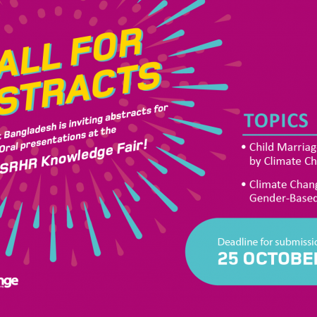 Call for Abstracts – The Share-Net Bangladesh SRHR Knowledge Fair 2021
